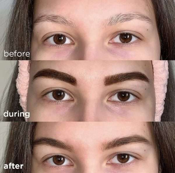 baebrows before after 1